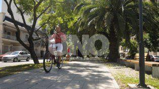 las bicis no podran circular mas por el cantero central de bulevar