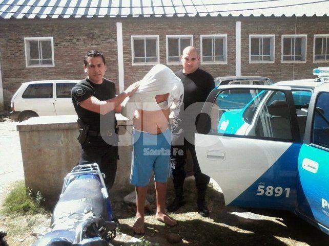 Detuvieron a un joven con pedido de captura por tentativa de homicidio y asalto a mano armada
