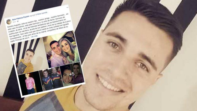 Desgarrador mensaje de la tía del joven asesinado por el exnovio de una amiga