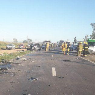 murieron cuatro personas en un triple choque en ruta nacional 34 a la altura de sunchales