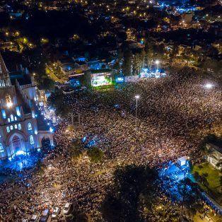 mas de 55 mil personas disfrutaron de la 30ª edicion del festival folclorico de guadalupe