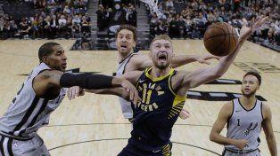 Los Spurs volvieron a perder sin Emanuel Ginóbili