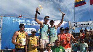 Capogrosso y Azaad lograron el título en Nova Vicosa