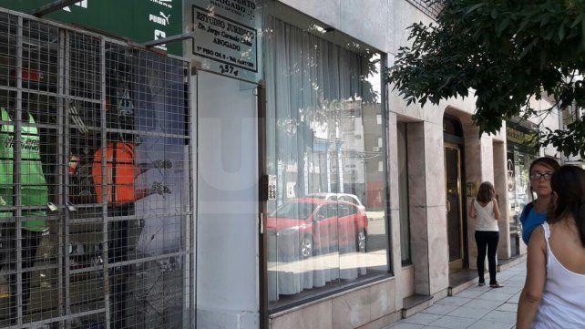 Entraron a robar a un edificio de oficinas a metros de la Policía Federal y de Asuntos Internos
