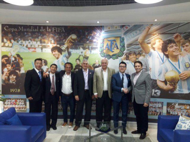 Importante convenio de ATFA para captar jugadores en China