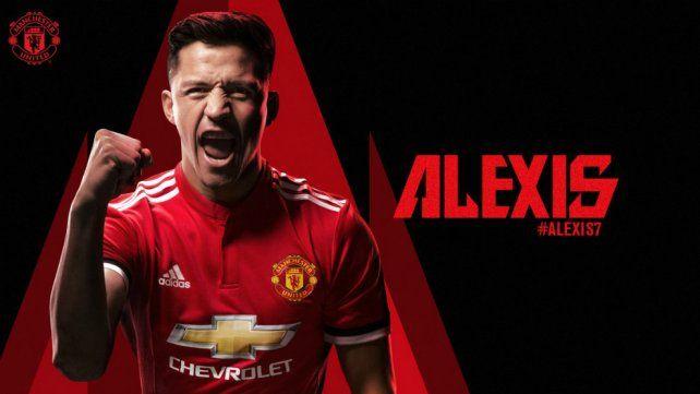 Manchester United oficializó la llegada de Alexis Sánchez