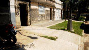 El último. El lugar donde asesinaron este lunes a Julio Martínez.