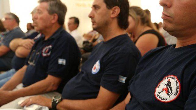 Los cuarteles de bomberos están eximidos del pago de los servicios públicos