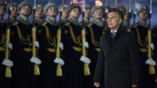 Macri llegó a Moscú donde quiere abrir campos de cooperación con Rusia