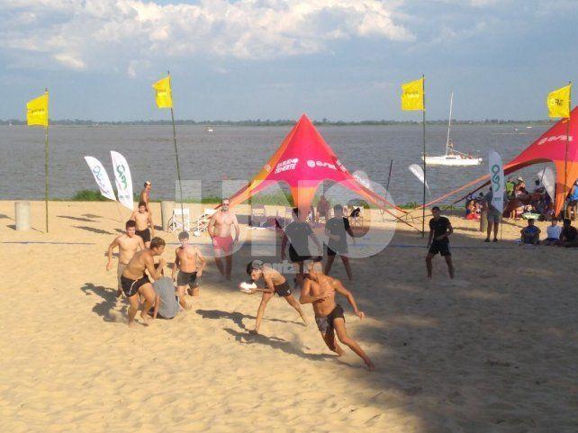 El Beach Rugby fue un éxito