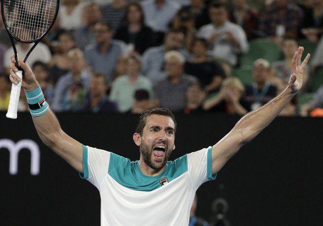 Marin Cilic es el primer finalista del Australia Open