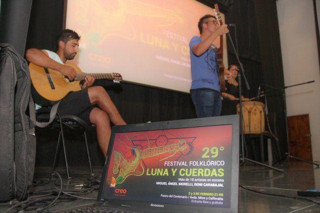 Cuenta regresiva para la 29º edición del Festival Folklórico Luna y Cuerdas