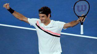 Federer se metió en la final del Abierto de Australia