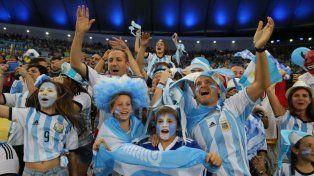 Argentina está entre los países como más solicitud de entradas para Rusia
