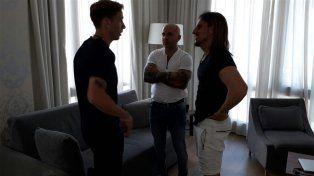 Jorge Sampaoli charló con Lucas Biglia