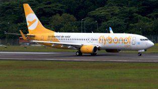 Flybondi: la low cost, interesada en venir a Santa Fe, tuvo su primer vuelo