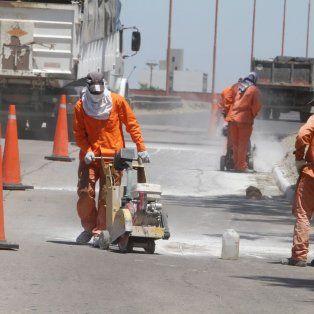 ruta 168: habra desvios especiales por las obras de repavimentacion