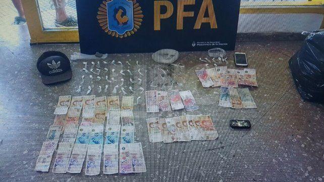 Cayeron tres vendedores barriales de cocaína y marihuana fraccionada
