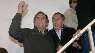 Reutemann y Obeid luego de la victoria en las elecciones legislativas de 2009