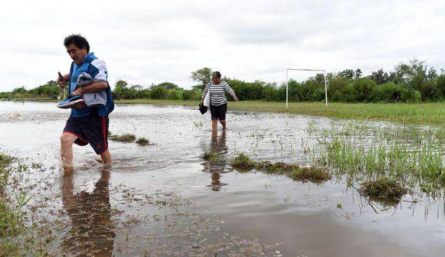En la costa del Paraná de la ciudad de Corrientes el registro de este viernes es de 6