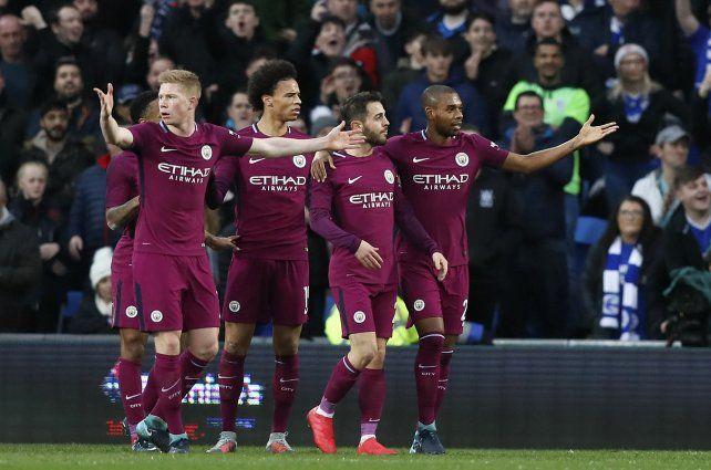 Manchester City se metió en los octavos de final de la FA Cup