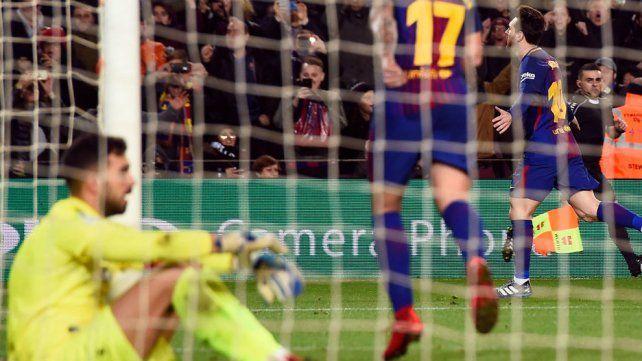 Messi frotó la lámpara y Barcelona se lo dio vuelta al Alavés