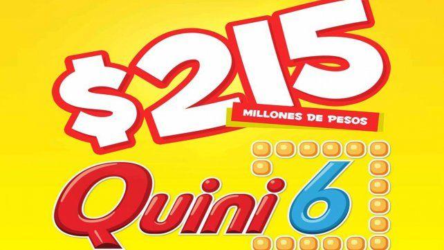 El Quini 6 sorteará el pozo más alto de la historia