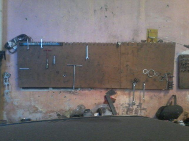 Indignante: le desvalijaron el taller y se quedaron sin herramientas para trabajar