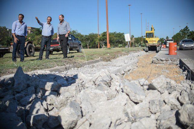 Ruta 168: hoy, la mano que va hacia Paraná podría tener doble sentido de circulación