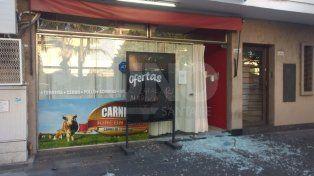 Robos y destrozos en una carnicería de Candioti Sur