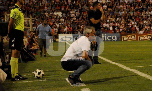 El jugador que quiere ganarse otra vez la atención del técnico de Unión