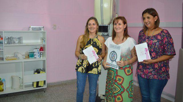 Se inauguró la sala de mamografía del Samco de Santo Tomé