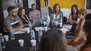 Adriana Molina destacó la decisión de trabajar articuladamente y en equipo en materia de políticas de género.