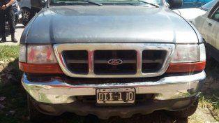 Hallazgo. La camioneta fue encontrada en la ciudad de Rosario el día después del crimen.