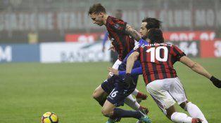 Milan y Lazio no pudieron romper el cero en la primera semifinal