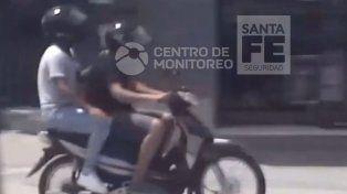 Las cámaras del 911 captaron la persecución y arresto de dos hombres en Aristóbulo del Valle