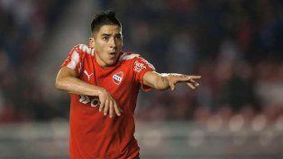 El fanático de Colón que hoy juega en Independiente