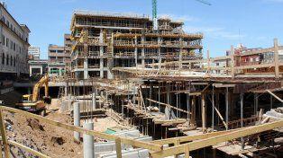 La obra del nuevo edificio de tribunales tiene un 75% de avance