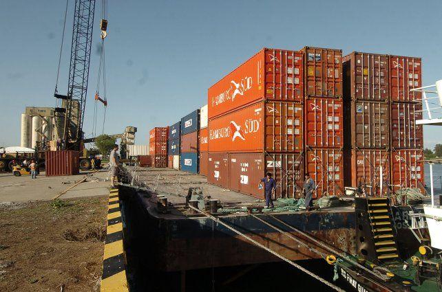 Cayeron más de un 5 por ciento las exportaciones santafesinas