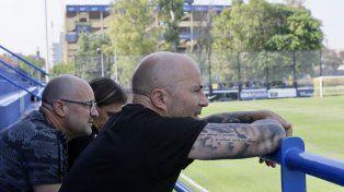 Jorge Sampaoli anda siguiendo a dos jugadores de Boca