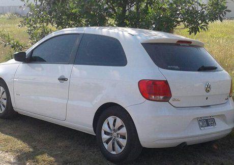El auto fue encontrado en horas de la mañana de este sábado en barrio La Florida de San Justo
