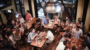 La reducción del Drei beneficia a más de 550 locales gastronómicos