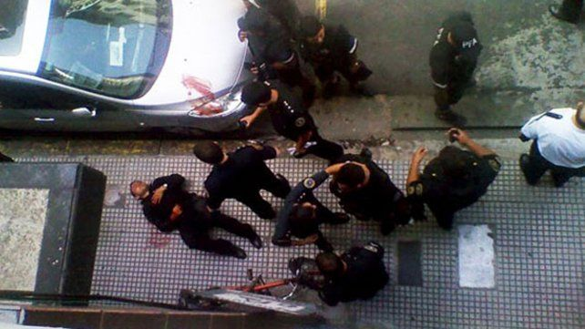 Dos heridos en un tiroteo en el centro de la ciudad de Buenos Aires