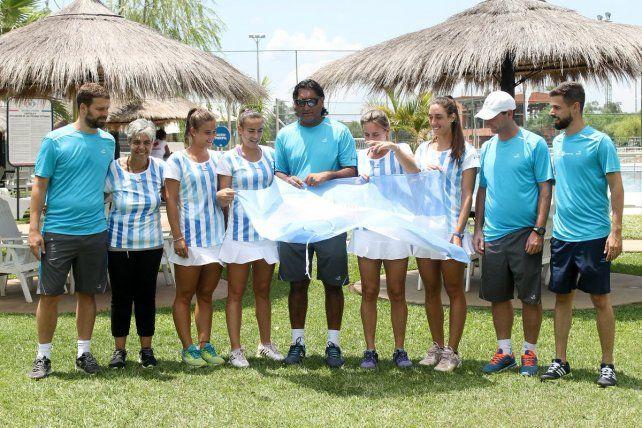 Argentina debuta contra Guatemala en la Copa Federación
