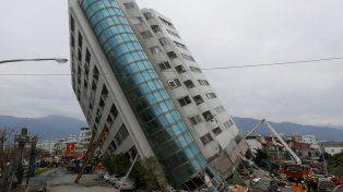 Un terremoto de 6,4 en Taiwán deja al menos cuatro muertos y más de 200 heridos