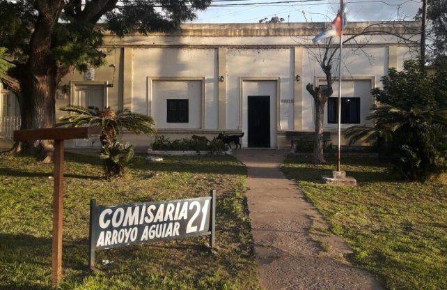 Pesquisa. La búsqueda del prófugo se inició en la Comisaría Nº 21.