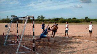Santo Tomé será epicentro de un torneo de beach handball