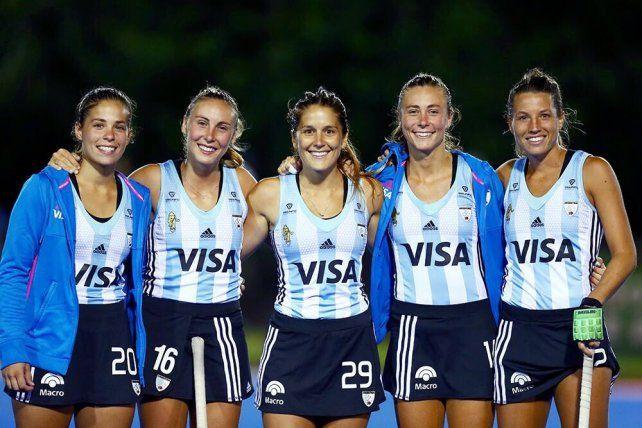Las Leonas están en Rosario