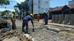 La provincia ya ejecutó el 30% del desagüe Mariano Comas en Santa Fe