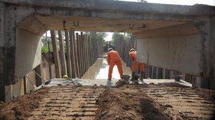 La obra del desagüe El Sable presenta un 60% de avance